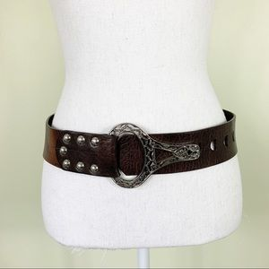 Chico's | Brown Leather Belt
